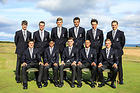 Team England during previews for the Boys' Home Internationals played at Royal Dornoch, Dornoch, Sutherland, Scotland. 06/08/2018<br /> Picture: Golffile | Phil Inglis<br /> <br /> All photo usage must carry mandatory copyright credit (&copy; Golffile | Phil Inglis)