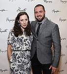 Talene Monahon and Ian Harvie attends the Opening Night Performance After Party for the Playwrights Horizons world premiere production of 'Log Cabin' on June 25, 2018 at Playwrights Horizons in New York City.