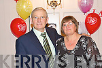 RUBY ANNIVERSARY: Pat and Mary McDonald, Ballymacelligott who celebrated their 40th wedding anniversary with family and friends at the Earl of Desmond Hotel on Saturday..