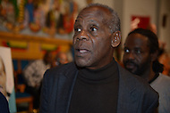 Washington, DC - January 11, 2014: Actor Danny Glover appears at a community forum for businessman and D.C. mayoral candidate Andy Shallal at the Union Temple Baptist Church in advance of the April primary.  (Photo by Don Baxter/Media Images International)