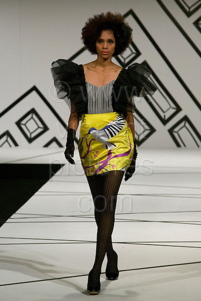 3-6 June 2007, Graduate Fashion Week, London, Battersea Park, (Photo: Bettina Strenske)
