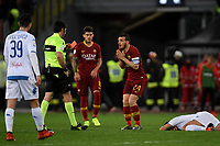 Alessandro Florenzi of AS Roma sent off from referee Fabio Maresca <br /> Roma 11-3-2019 Stadio Olimpico Football Serie A 2018/2019 AS Roma - Empoli<br /> Foto Andrea Staccioli / Insidefoto