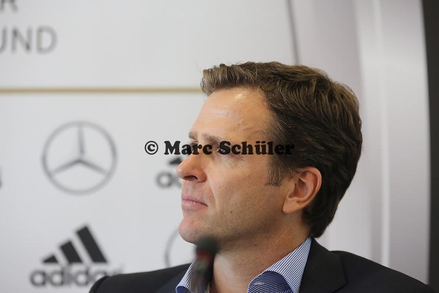 Nationalmannschaftsmanager Oliver Bierhoff  - Vertragsverlängerung von Bundestrainer Joachim Löw, DFB Zentrale