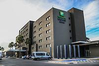 Hotel Holiday In Expr&eacute;s ubicado en el  Bulevar Colosio, durante el juego de beisbol. Segunda vuelta de la Liga Mexicana del Pacifico. Segundo partido entre Yaquis de Obregon vs Naranjeros de Hermosillo. 09 Diciembre 2017.<br /> (Foto: Luis Gutierrez /NortePhoto.com)
