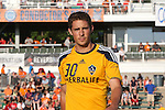 29 May 2013: Los Angeles' Chandler Hoffman. The North American Soccer League's Carolina RailHawks hosted Major League Soccer's Los Angeles Galaxy at WakeMed Stadium in Cary, NC in a 2013 Lamar Hunt U.S. Open Cup third round game. Carolina won the game 2-0.