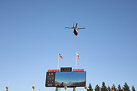 Stanford, CA - Saturday July 01, 2017: Flyover, helicopter during a Major League Soccer (MLS) match between the San Jose Earthquakes and the Los Angeles Galaxy at Stanford Stadium.