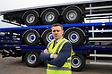 SPECIAL BREXIT FEA ON ANTRIM AND SDC TRAILERS FOR Arthur Beesley  - 9/1/2019: Enda Cushnahan, Chief Executive Officer, SDC in Toomebridge, County Antrim, Northern Ireland. Photo/Paul McErlane