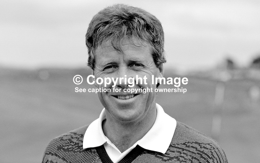 Hugh Baiocchi, professional golfer, South Africa, Irish Open, Druids Glen, Co Wicklow, Ireland, 19870706HB1..Copyright Image from Victor Patterson, 54 Dorchester Park, Belfast, UK, BT9 6RJ..Tel: +44 28 9066 1296.Mob: +44 7802 353836.Voicemail +44 20 8816 7153.Skype: victorpattersonbelfast.Email: victorpatterson@me.com.Email: victorpatterson@ireland.com (back-up)..IMPORTANT: If you wish to use this image or any other of my images please go to www.victorpatterson.com and click on the Terms & Conditions. Then contact me by email or phone with the reference number(s) of the image(s) concerned.