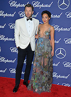 Actors Joel Edgerton &amp; Ruth Negga at the 2017 Palm Springs Film Festival Awards Gala. January 2, 2017<br /> Picture: Paul Smith/Featureflash/SilverHub 0208 004 5359/ 07711 972644 Editors@silverhubmedia.com
