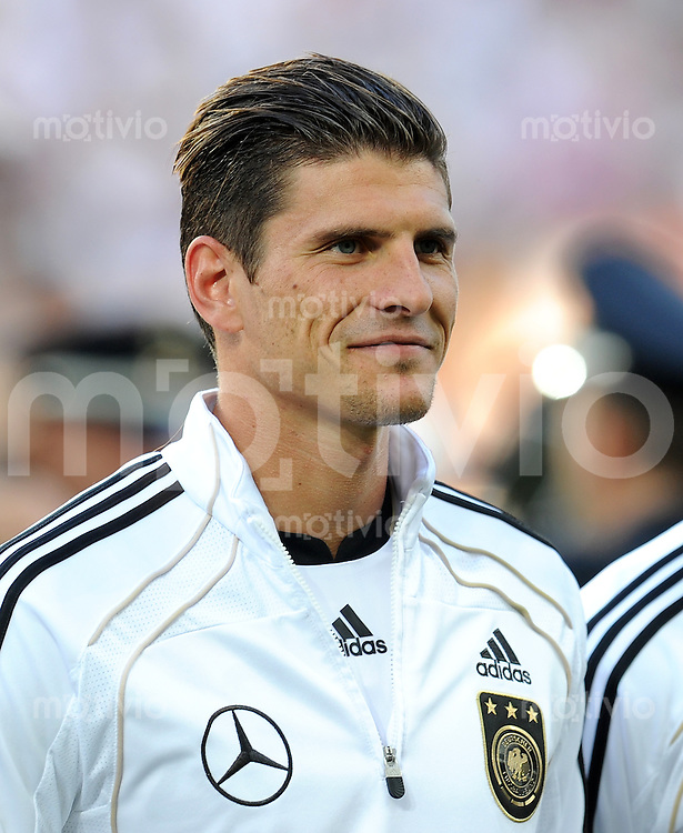 FUSSBALL INTERNATIONAL  EM 2012 Freundschaftsspiel  29.05.2011 Deutschland - Uruguay Mario GOMEZ (Deutschland)