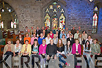 ACTORS: Actors from Tralee acting school who performed the passion of Christ in St John's Church, Tralee on Good Friday..