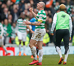 11.3.2018 Rangers v Celtic:<br /> Scott Brown at full time