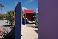 """""""El Hotelito"""" in Todo Santos, Baja California Sur, Mexico.  Friday, Feb 15, 2008"""
