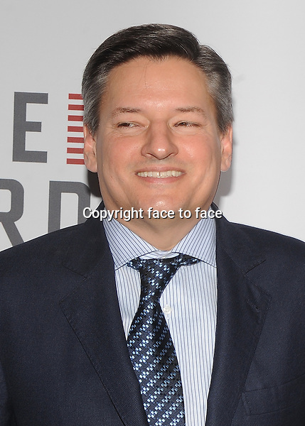 "Ted Sarandos attending Netflix's ""House Of Cards"" Premiere at Alice Tully Hall in New York, 30.01.2013...Credit: MediaPunch/face to face..- Germany, Austria, Switzerland, Eastern Europe, Australia, UK, USA, Taiwan, Singapore, China, Malaysia and Thailand rights only -"