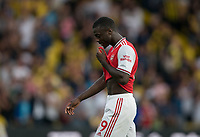 Nicolas Pépé of Arsenal during the Premier League match between Watford and Arsenal at Vicarage Road, Watford, England on 16 September 2019. Photo by Andy Rowland.