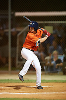 Cory Acton (8) while playing for Houston Astros Scout Team/Elite Squad based out of Pembroke Pines, Florida during the WWBA World Championship at the Roger Dean Complex on October 19, 2017 in Jupiter, Florida.  Cory Acton is a third baseman / middle infielder / outfielder from Fort Lauderdale, Florida who attends American Heritage High School.  (Mike Janes/Four Seam Images)