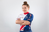 Picture by Alex Whitehead/SWpix.com - 11/10/2017 - British Cycling - Great Britain Cycling Team Senior Academy Portraits - HSBC UK National Cycling Centre, Manchester, England - Lauren Bate.