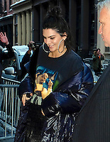 www.acepixs.com<br /> <br /> February 10 2017, New York City<br /> <br /> TV personality Kendall Jenner arriving at an event at V Magazine in Soho on February 10, 2017 in New York City.<br /> <br /> By Line: Curtis Means/ACE Pictures<br /> <br /> <br /> ACE Pictures Inc<br /> Tel: 6467670430<br /> Email: info@acepixs.com<br /> www.acepixs.com