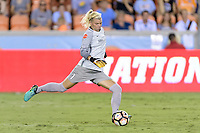 Houston, TX - Sunday August 13, 2017:  Jane Campbell during a regular season National Women's Soccer League (NWSL) match between the Houston Dash and FC Kansas City at BBVA Compass Stadium.