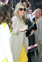 June 20, 2012 Michelle Pfeiffer at Good Morning America in New York City to talk about her new movie 'People Like Us'. © RW/MediaPunch Inc. NORTEPHOTO<br />