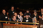 The Newsies Fan Day at The Paper Mill Playhouse on October 2, 2010 in Millburn, New Jersey with current cast members and cast members of the film. It was a day of events to all devoted fans of Newsies - Radio Disney at 4 pm, executive reception for members of the original cast of Newsies (the movie) followed by a talkback, Q&A in the theater - all this followed by the evening performance of Newsies with the Curtain Call, old cast meets new cast and a cast photo of all. (Photo by Sue Coflin/Max Photos)
