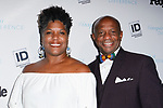 "Dectective Garry McFadden from ""I Am Homicide"" TV show, and wife Cathy McFadden, arrive at the 2017 INSPIRE A DIFFERENCE honors event by Investigation Discovery and PEOPLE, at the Dream Hotel Downtown, on November 2, 2017."