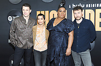 """NEW YORK, NEW YORK - FEBRUARY 13:Jake Lacy, Zoe Kravitz, Da'Vine Joy Randolph and David H. Holmes  attends the """"High Fidelity"""" New York Premiere at The Metrograph on February 13, 2020 in New York City.<br />    <br /> CAP/MPI/JP<br /> ©JP/MPI/Capital Pictures"""