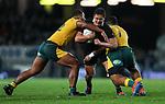 Anton Lienert-Brown. Bledisloe Cup Rugby, All Blacks v Wallabies, Eden Park, Auckland, Saturday 17 August 2019. Photo: Simon Watts/www.bwmedia.co.nz