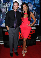 "LOS ANGELES, CA, USA - APRIL 16: Jason London, Natalie Burn at the Los Angeles Premiere Of Open Road Films' ""A Haunted House 2"" held at Regal Cinemas L.A. Live on April 16, 2014 in Los Angeles, California, United States. (Photo by Xavier Collin/Celebrity Monitor)"