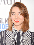 SANTA MONICA, CA - FEBRUARY 25: Actress Aubrey Plaza attends the 2017 Film Independent Spirit Awards at the Santa Monica Pier on February 25, 2017 in Santa Monica, California.