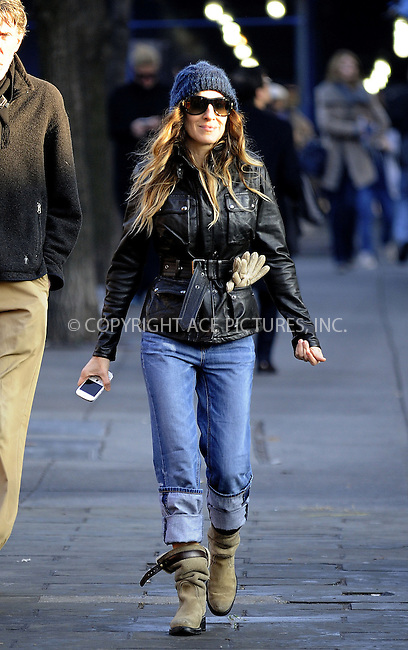WWW.ACEPIXS.COM....December 3 2012, New York City....Actress Sarah Jessica Parker walks in the West Village on December 3 2012 in New York City....By Line: Curtis Means/ACE Pictures......ACE Pictures, Inc...tel: 646 769 0430..Email: info@acepixs.com..www.acepixs.com