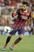 FC Barcelona's Daniel Alves during La Liga match.September 1,2013. (ALTERPHOTOS/Acero) <br /> Football Calcio 2013/2014<br /> La Liga Spagna<br /> Foto Alterphotos / Insidefoto <br /> ITALY ONLY