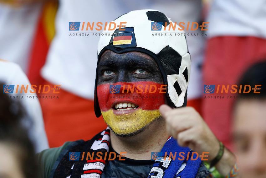 Tifosi Germania Germany supporters<br /> Marseilles 07-07-2016 Stade Velodrome Football Euro2016 Germany - France / Germania - Francia Semi-finals / Semifinali <br /> Foto Matteo Ciambelli / Insidefoto
