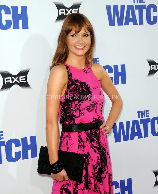WWW.ACEPIXS.COM....July 23 2012, LA....Valerie Azlynn arriving at the premiere of 'The Watch' at Grauman's Chinese Theatre on July 23, 2012 in Hollywood, California......By Line: Peter West/ACE Pictures......ACE Pictures, Inc...tel: 646 769 0430..Email: info@acepixs.com..www.acepixs.com