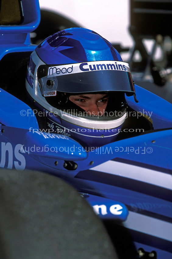 Sarah Fisher (#15) Phoenix International Raceway 2001 (Indy Racing League)