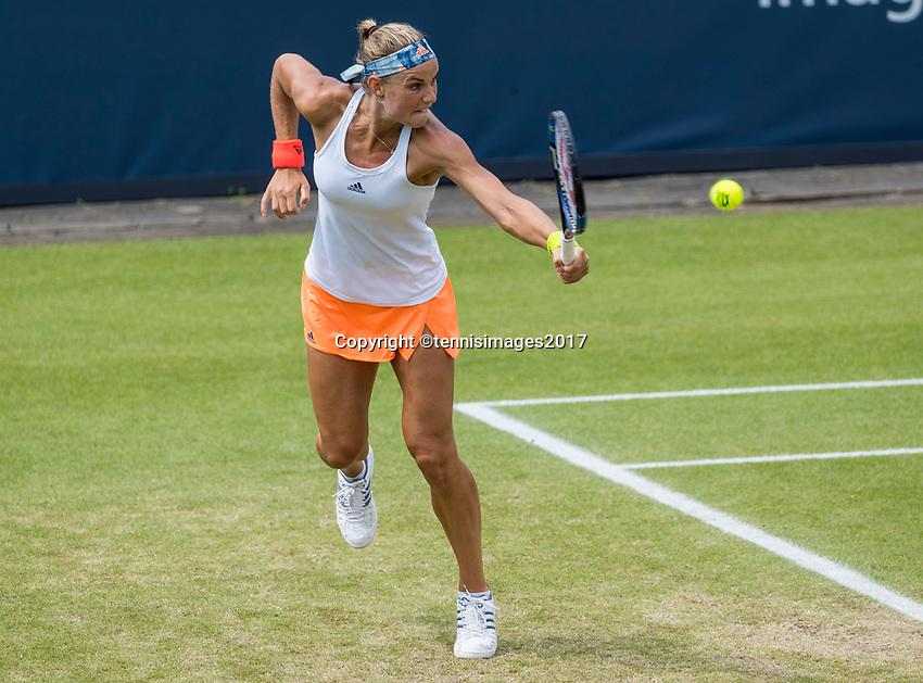 Den Bosch, Netherlands, 13 June, 2017, Tennis, Ricoh Open, Arantxa Rus (NED)<br /> Photo: Henk Koster/tennisimages.com
