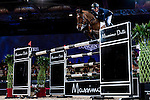 Riders compete during the horse jumping Hong Kong Masters 2014 on February 23, 2014 at Asia World Expo in Hong Kong, China. Photo by Xaume Olleros / Power Sport Images