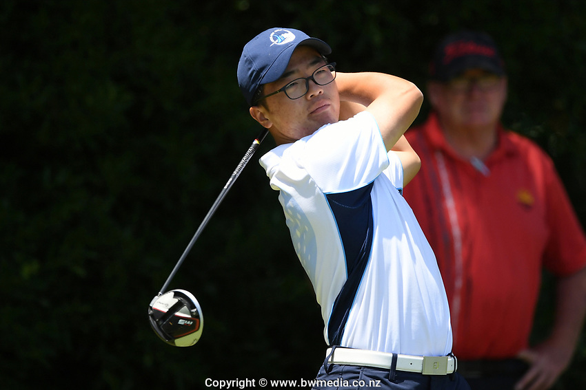 Jang Hyun Lee, Auckland, 2019 New Zealand Men's Interprovincials, Hastings Golf Club, Hawke's Bay, New Zealand, Tuesday 26th November, 2019. Photo: Kerry Marshall/www.bwmedia.co.nz