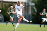 30 September 2012: UNC's Katie Bowen (NZL). The University of North Carolina Tar Heels defeated the University of Miami Hurricanes 6-1 at Fetzer Field in Chapel Hill, North Carolina in a 2012 NCAA Division I Women's Soccer game.