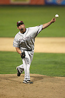 July 14, 2008:  Jose Escanola (34) of the Wisconsin Timber Rattlers at Memorial Stadium in Fort Wayne, IN.  Photo by:  Chris Proctor/Four Seam Images