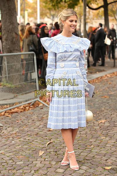MIUMIU<br /> <br /> Paris fashion week<br /> Ready to wear<br /> Spring Summer 2016MIUMIU<br /> Paris Fashion Week, Ready to Wear,Spring Summer 2016, Paris, France October 07, 2015.<br /> CAP/GOL<br /> &copy;GOL/Capital Pictures