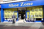 Shoe Zone shop, Ipswich, Suffolk, England
