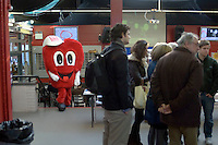 Guided tours during Open Day (also Blood Transfusion Day) University College for the Creative Arts, Farnham.