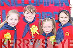 TAKING PART: Kilcummin ladybirds Amy OSullivan, Aine ODonoghue, Sadie Murphy and Grace Foley who participated in the St. Patricks Day Parade in Killarney..