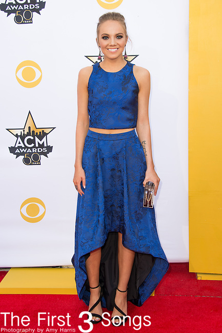 Danielle Bradbery attends the 50th Academy Of Country Music Awards at AT&T Stadium on April 19, 2015 in Arlington, Texas.
