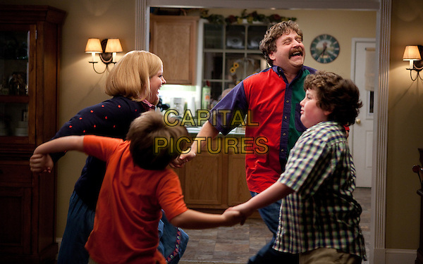 SARAH BAKER, KYA HAYWOOD, ZACH GALIFIANAKIS & GRANT GOODMAN.in The Campaign.*Filmstill - Editorial Use Only*.CAP/FB.Supplied by Capital Pictures.