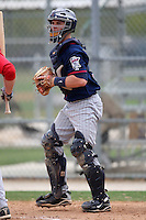 March 18, 2010:  Catcher Buddy Munroe of the Minnesota Twins organization during Spring Training at the Ft. Myers Training Complex in Ft. Myers, FL.  Photo By Mike Janes/Four Seam Images