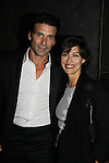 "Actors Frank Grillo and wife Wendy Moniz at a special screening of ""My Soul To Take"" on October 6, 2010 at AMC Loews Lincoln Square, New York City, New York. Frank Grillo stars in the film. (Photo by Sue Coflin/Max Photos)"