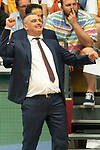 04.06.2019, RASTA Dome 2.0, VECHTA, GER, easycredit-bbl, PlayOff 02 HF, RASTA Vechta vs  FC Bayern Muenchen, im Bild<br /> <br /> Velibor Radović / Radovic (Trainer Bayern Muenchen BBL)<br /> Gestik, Mimik,<br /> <br /> Foto © nordphoto / Kokenge