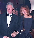 President Bill Clinton &amp; Carly Simon<br />